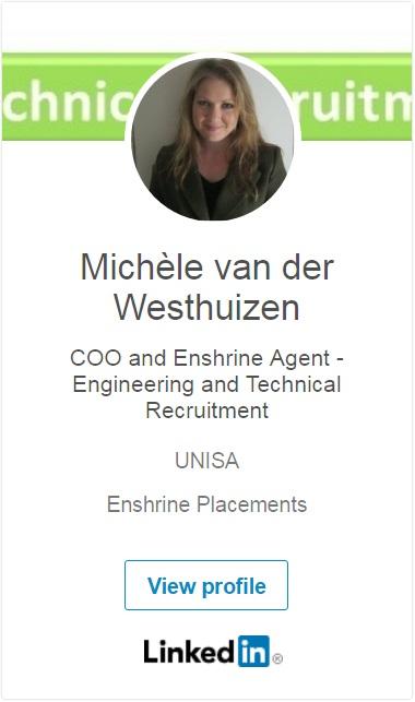 Michèle van der Westhuizen LinkedIn Profile