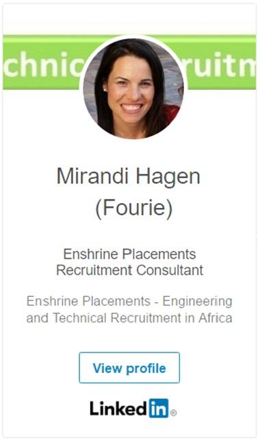 Mirandi Hagen LinkedIn Profile